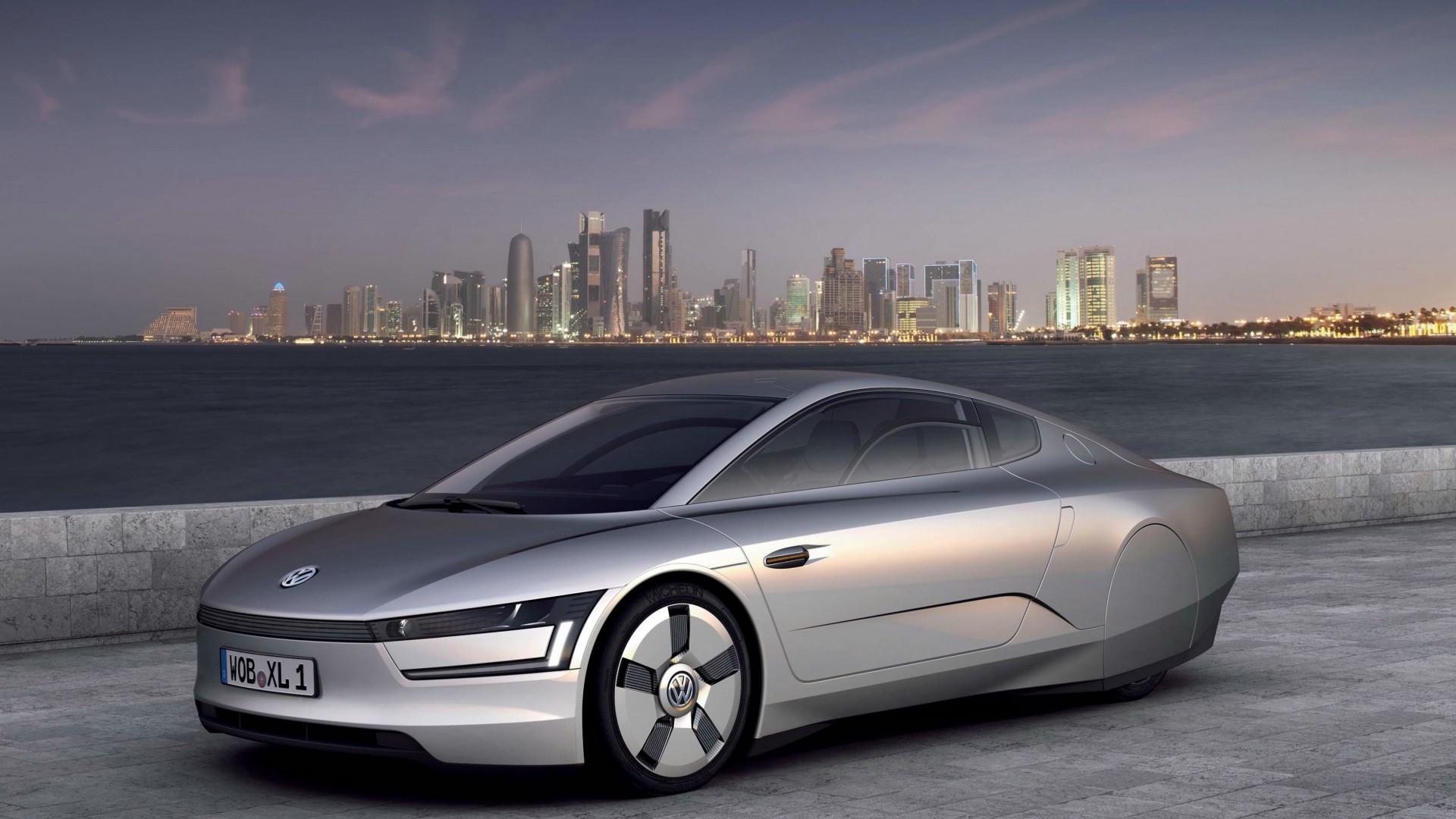 Wallpaper Volkswagen XL1, Electric Cars, Volkswagen