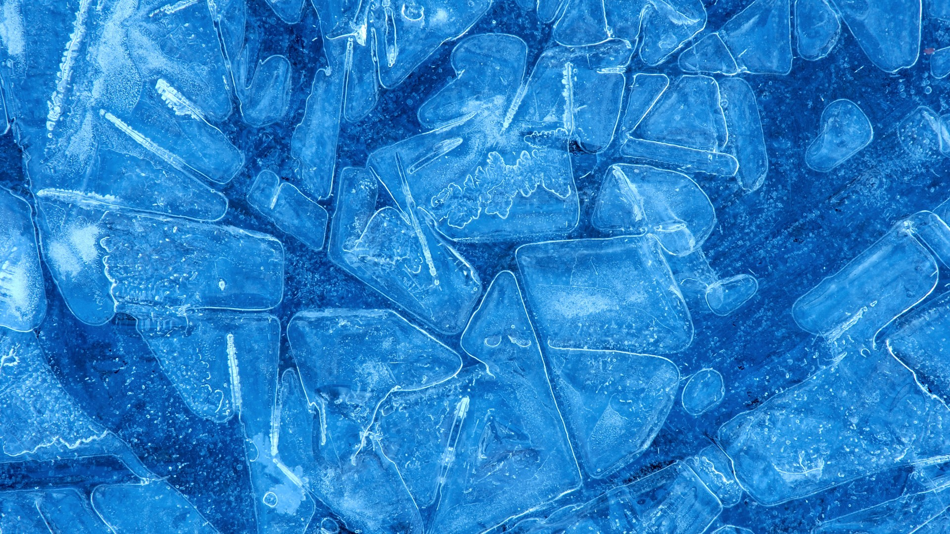 ice, 4k, 5k wallpaper, pattern, blue, background (horizontal)