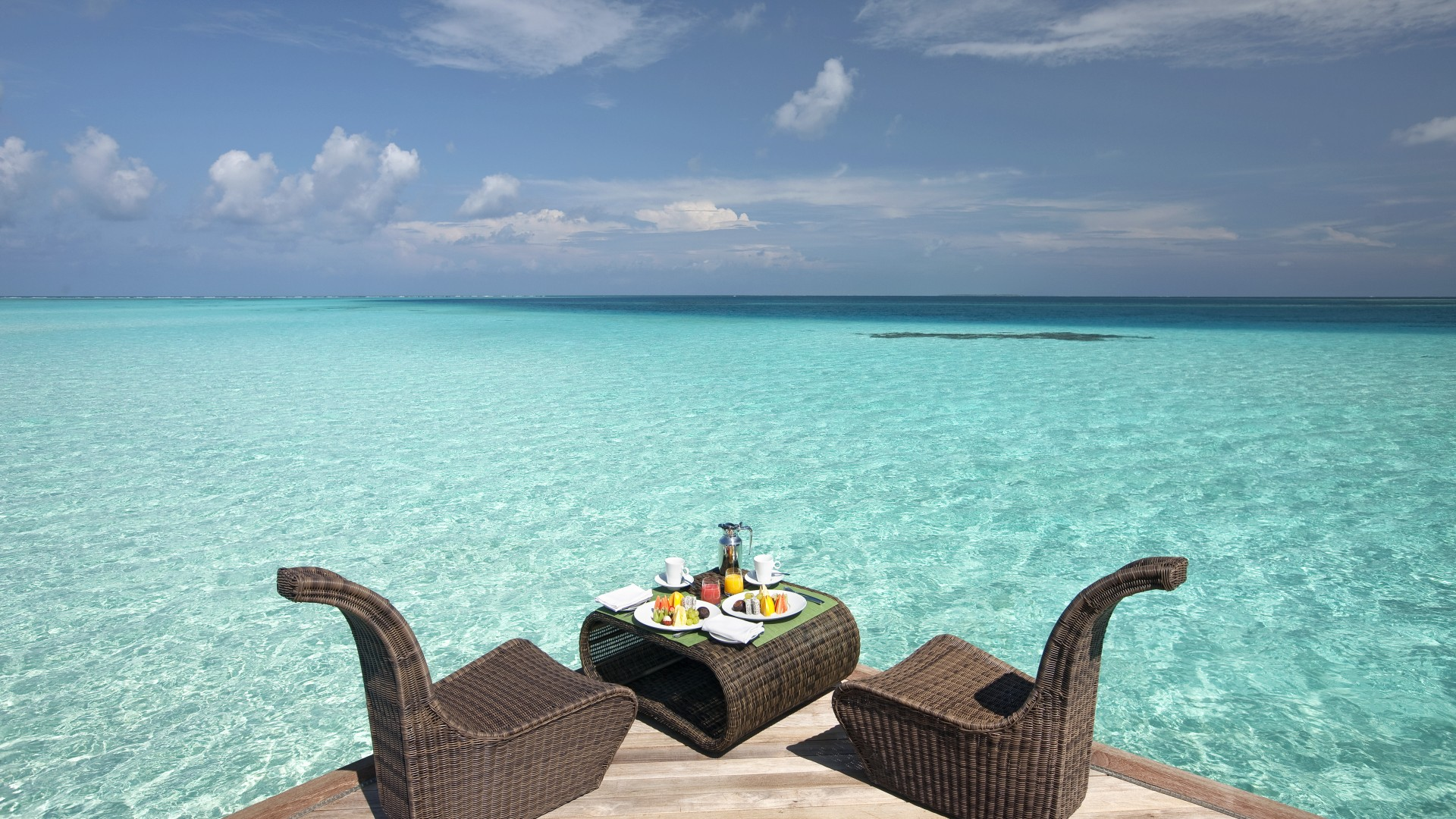 Constance Moofushi, Maldives, Best Hotels of 2017, tourism, travel. resort, vacation, sea, ocean, water (horizontal)