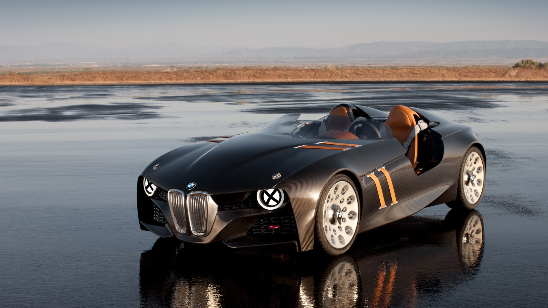 BMW 328, HD, 4k wallpaper, Hommage, concept, supercar, luxury cars, sports car, review, test drive, speed, cabriolet, front (horizontal)