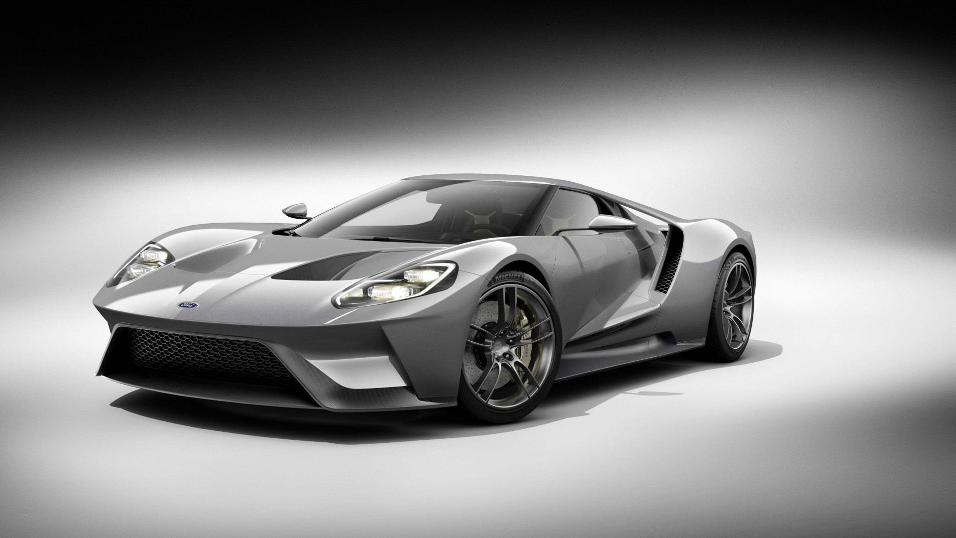 Wallpaper Ford GT supercar Ford concept 2015 car Detroit