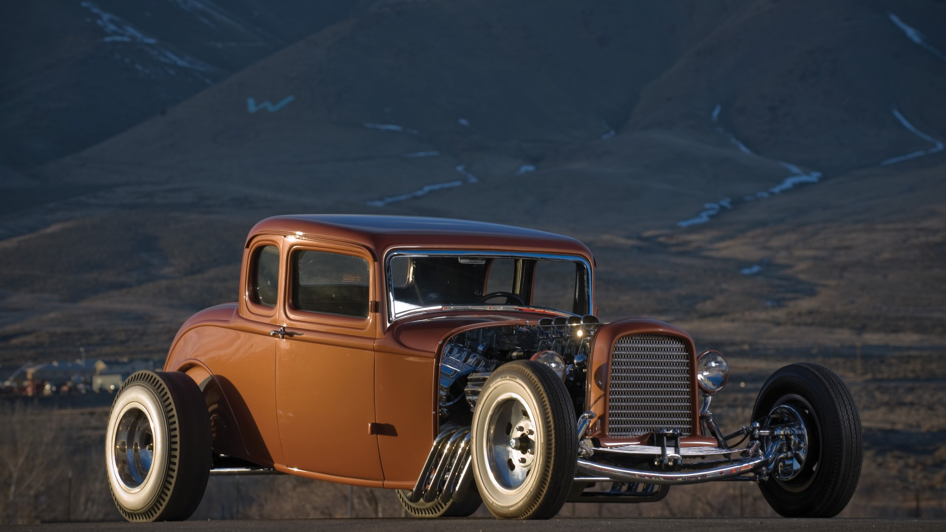 Hot rod, rodder, channeling, dual quad, elephant, Chrysler hemi, Mercury, review, test, buy, rent (horizontal)