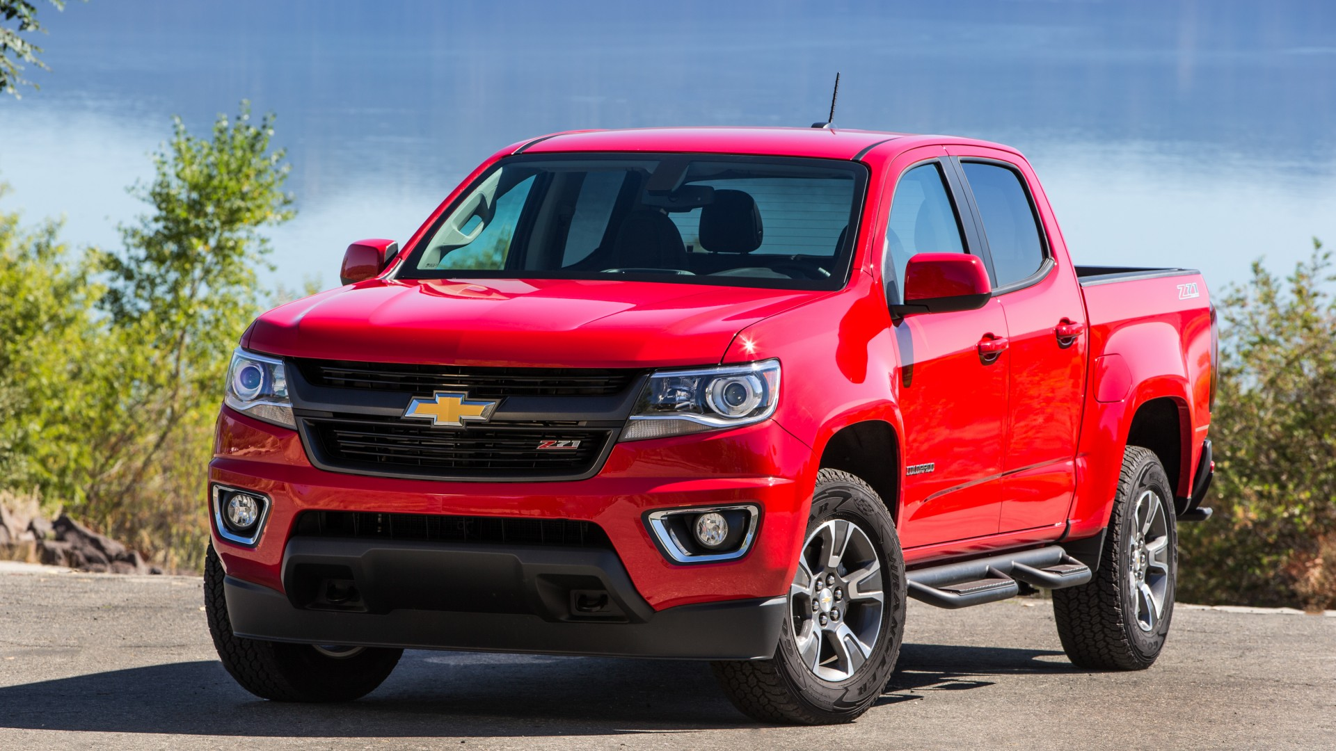Chevrolet Colorado, Chevy, GMC Canyon, pickup, truck, review, test drive, buy, rent (horizontal)