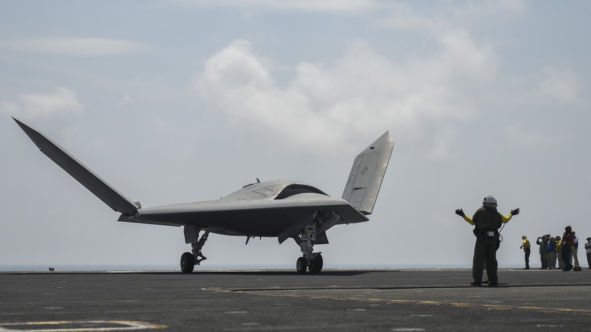 X-47B, drone, UCAS-D, Pegasus, USA Army, U.S. Air Force (horizontal)