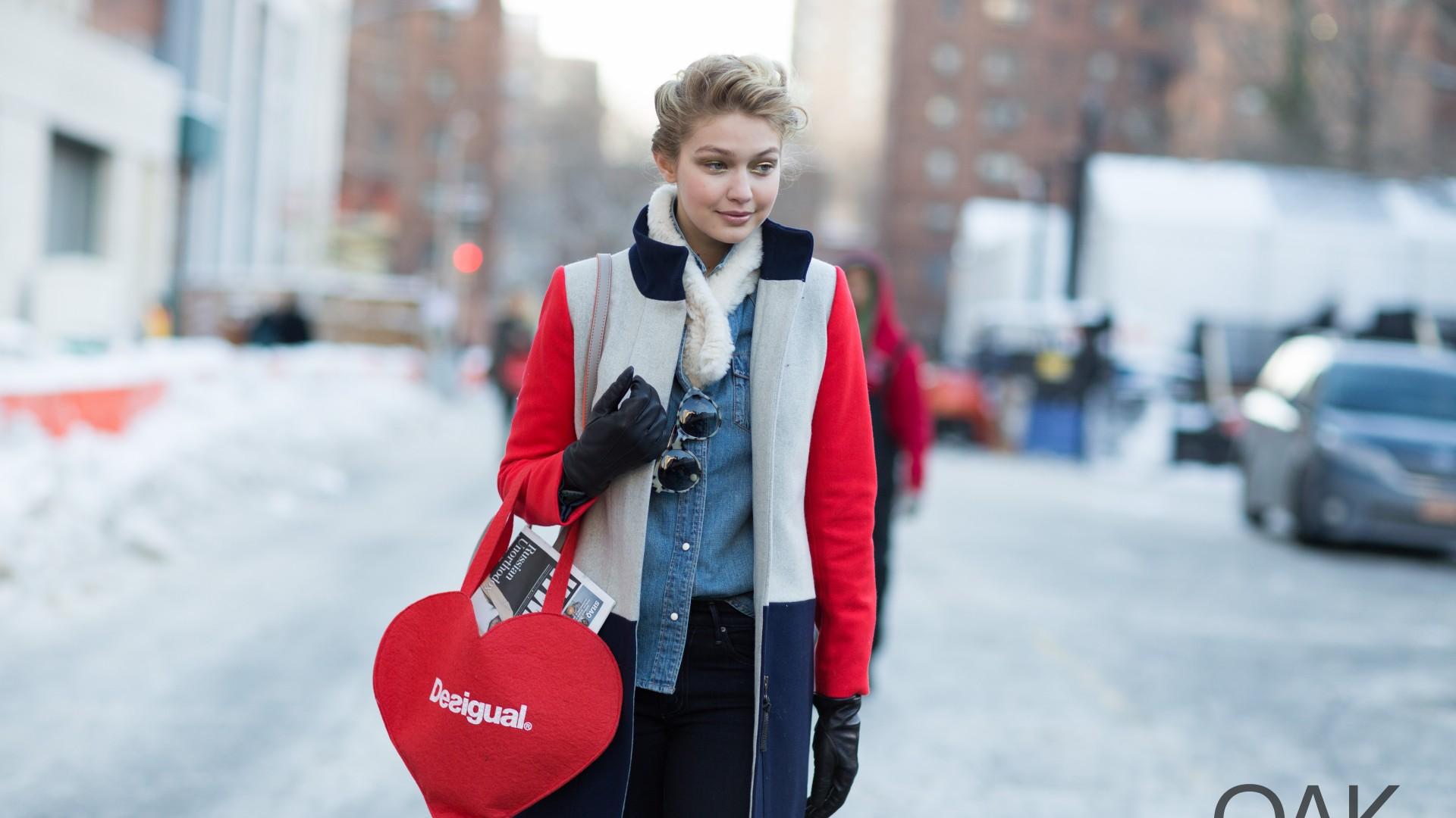 Gigi Hadid, Top Fashion Models 2015, model, TV personality, Real Housewives of Beverly Hills, street, blonde (horizontal)