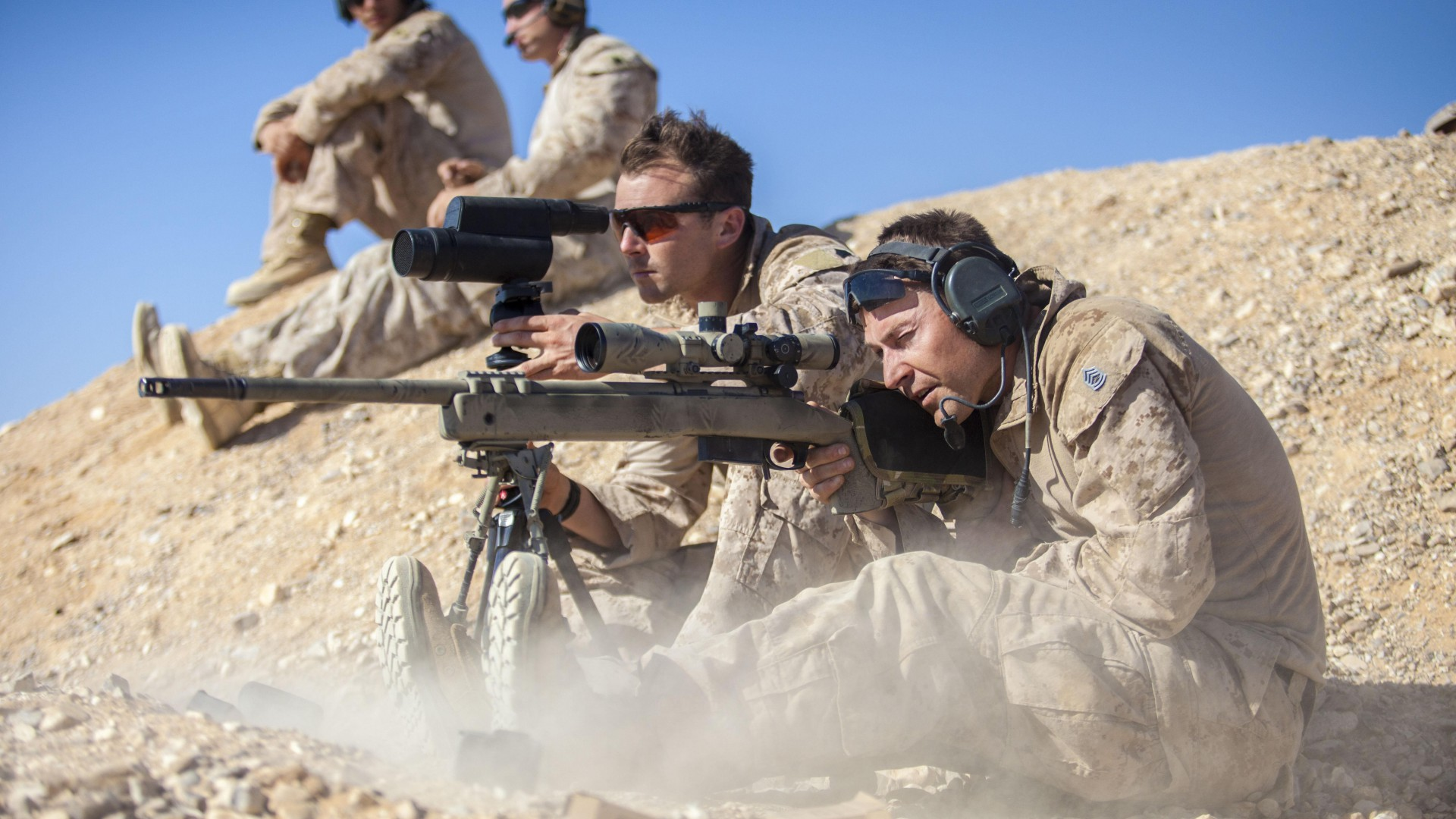 Chris Kyle, sniper, sniper rifle, biography, US Army, USA, firing, American Sniper, Most Lethal Sniper (horizontal)