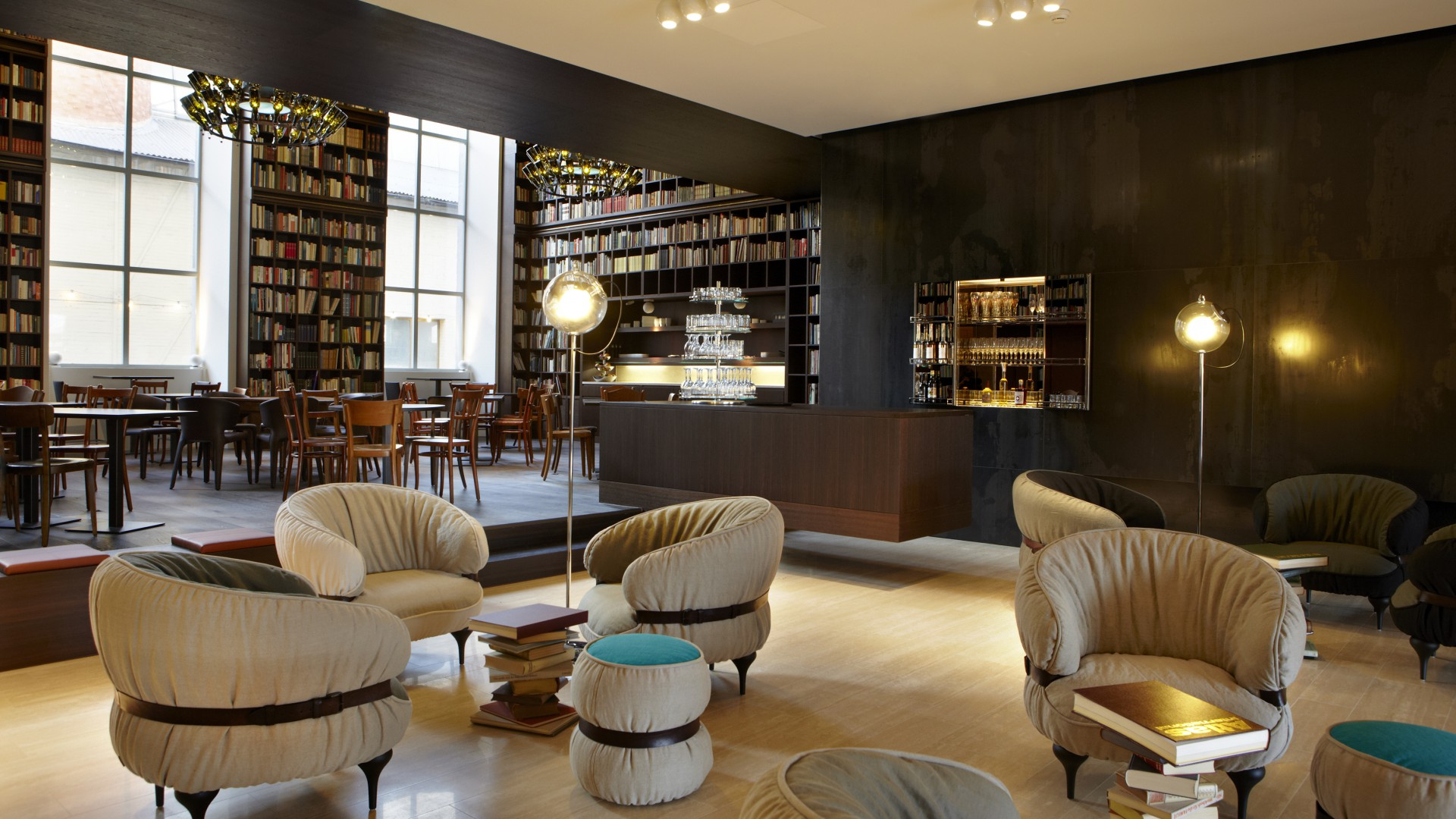 B2 boutique hotel and spa wallpaper architecture for Boutique hotel suisse