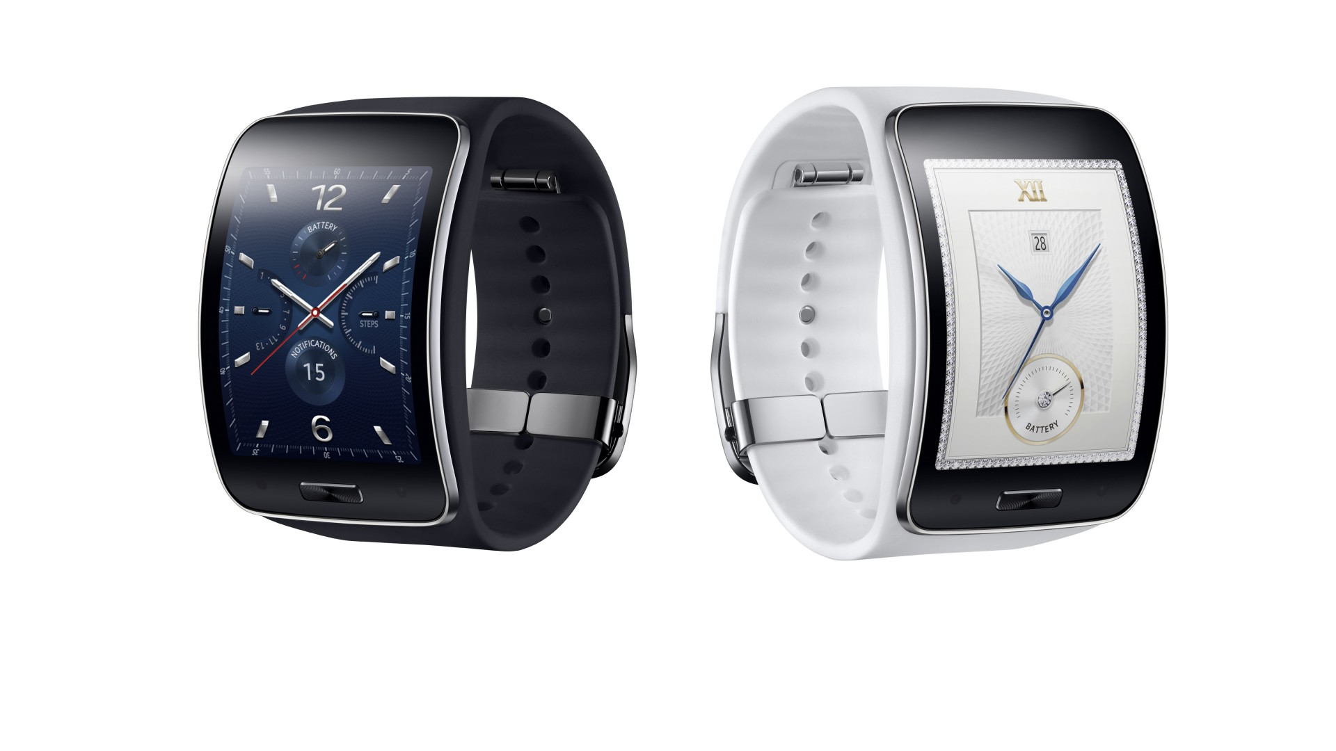 Samsung Gear S, watches, luxury watches, smart watches review, metal, display (horizontal)