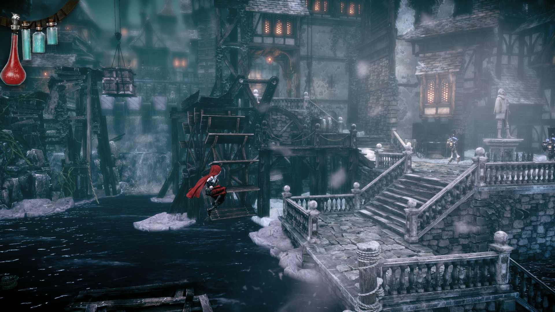 Woolfe: The Red Hood Diaries, Best Games 2015, Best Adventure Games 2015, Arcade, Steampunk, Fairy tale, screenshot, PC, PS4, Xbox one (horizontal)