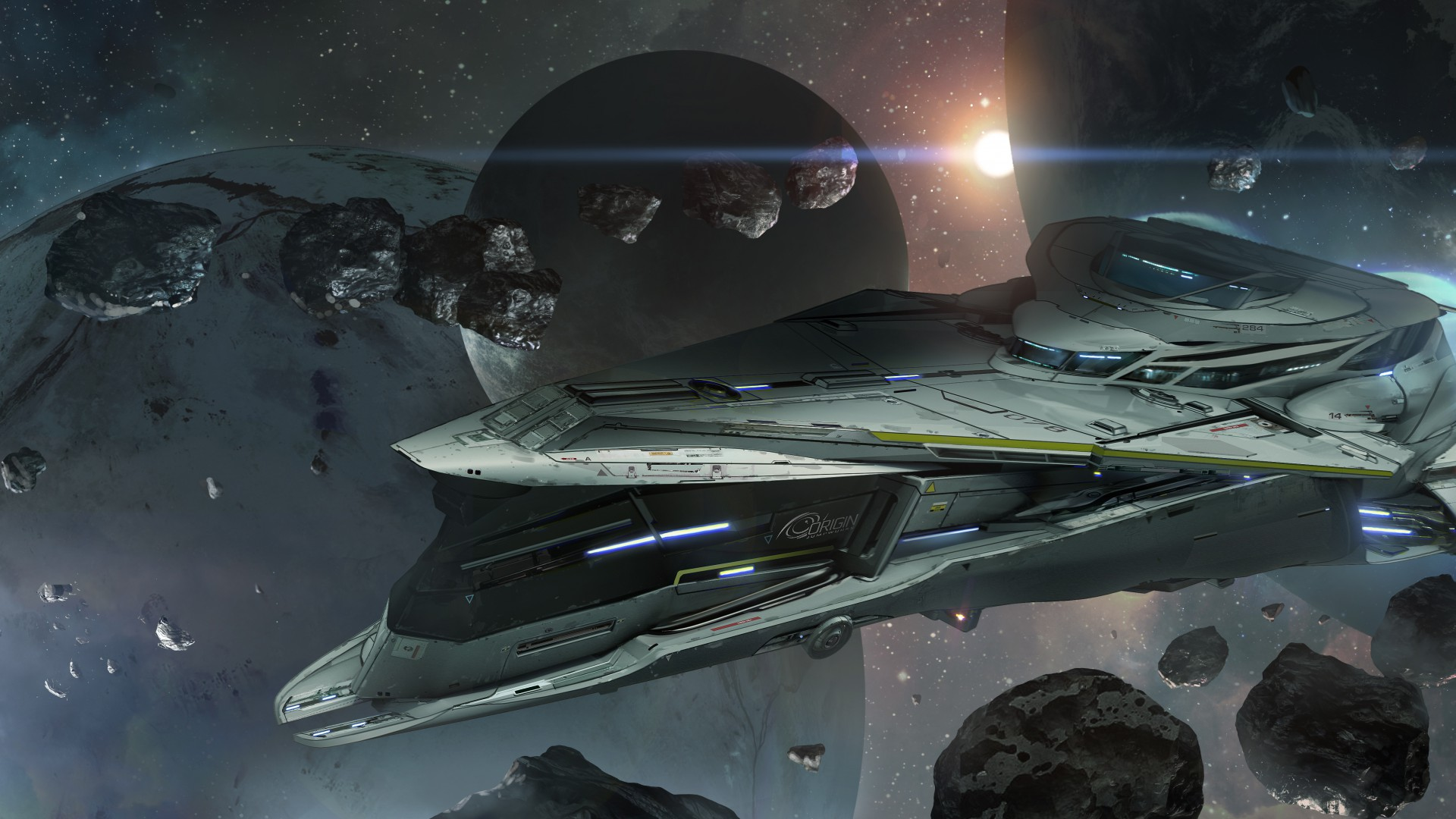 Star Citizen, game, shooter, space simulator, strategy, cosmos, spaceship, battleship, planet, Best Games of 2015 (horizontal)
