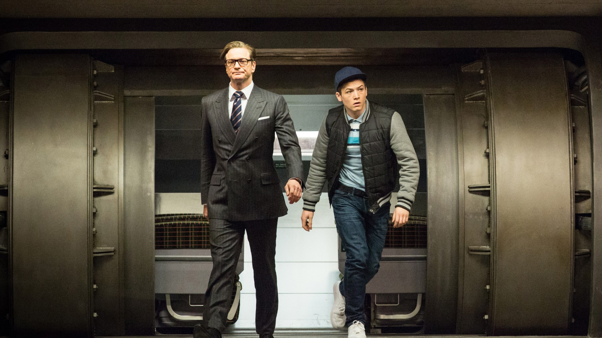 Colin Firth, Taron Egerton, Kingsman, Best Movies of 2015, crime (horizontal)
