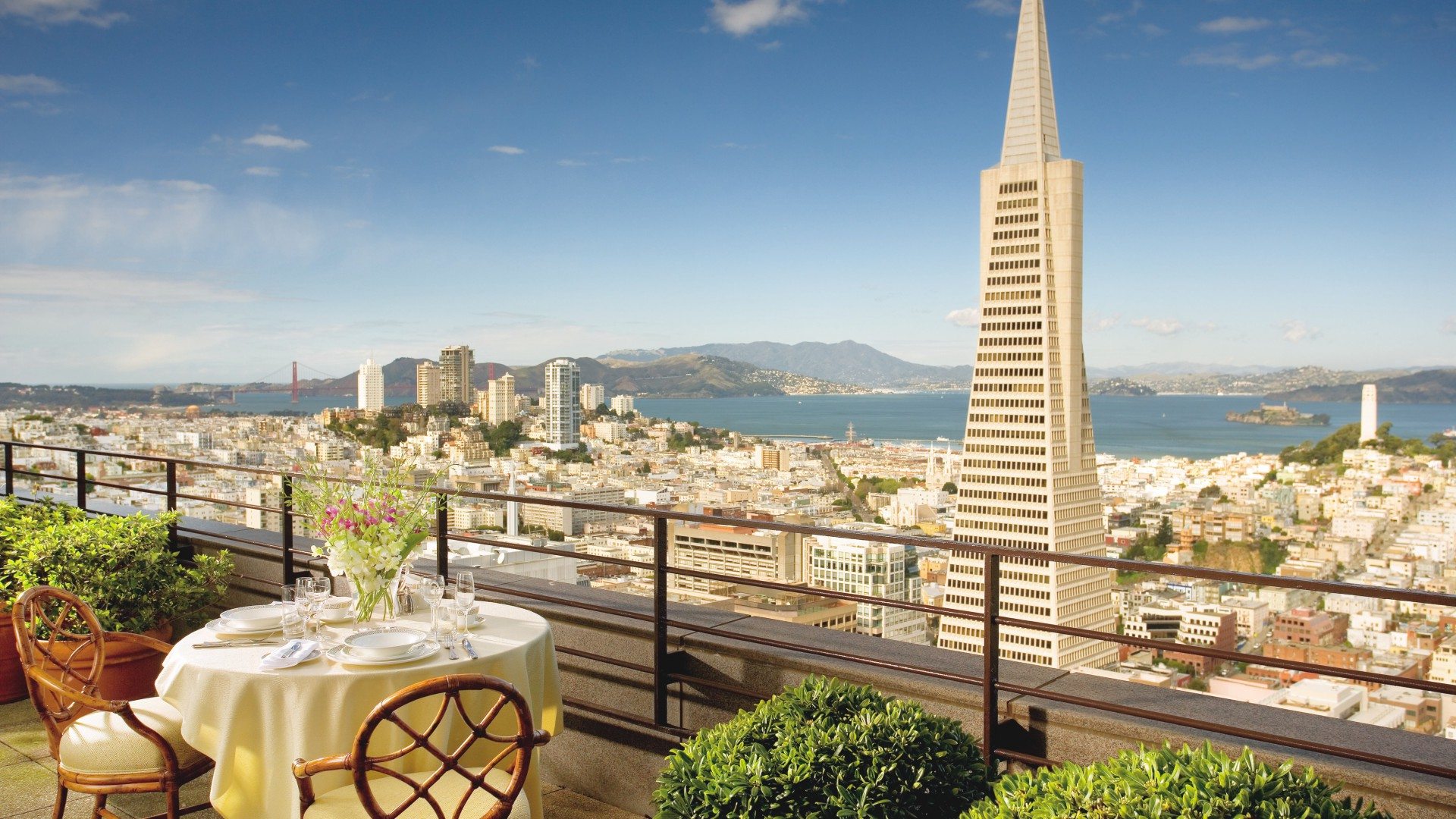 Mandarin Oriental Hotel, San Francisco, Best Hotels of 2017, tourism, travel, resort, vacation (horizontal)