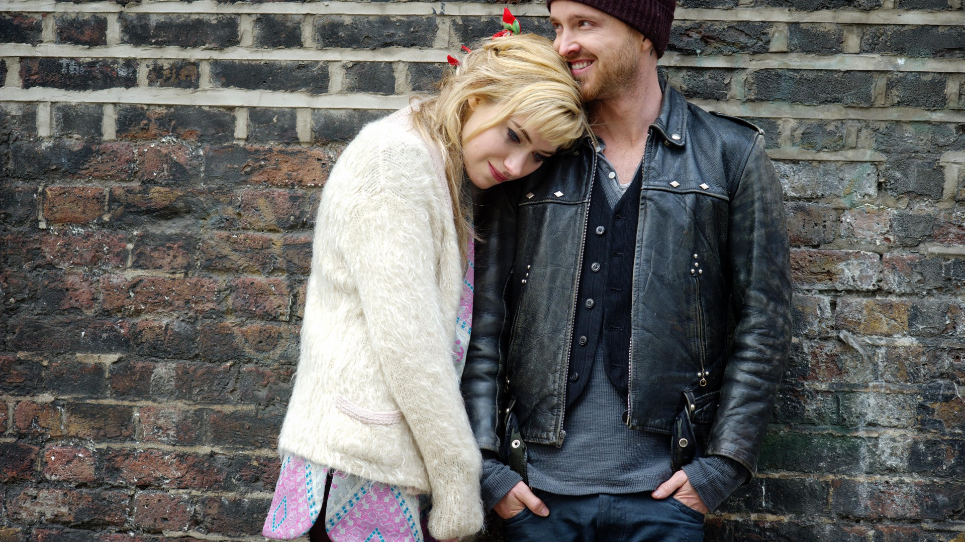 A Long Way Down, Best Movies, movie, Aaron Paul, Imogen Poots (horizontal)