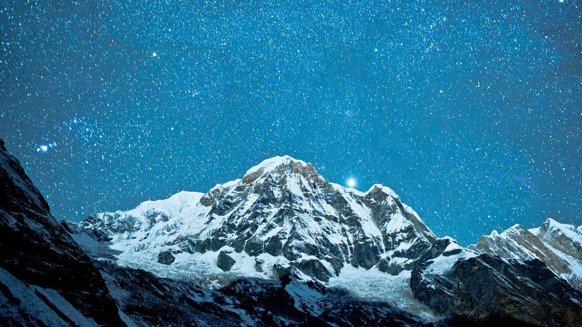 Aranea Highwind Final Fantasy Xv 5k Hd Games 4k: Wallpaper Nepal, 5k, 4k Wallpaper, Himalayas, Night, Stars