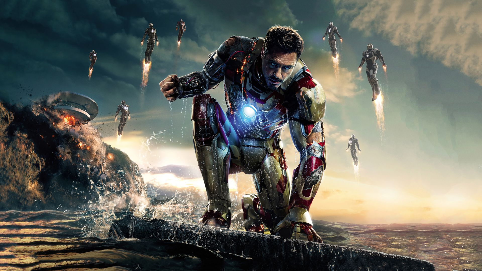 Avengers: Age of Ultron, Avengers 2, Robert Downey Jr., Iron Man, Tony Stark, Poster (horizontal)