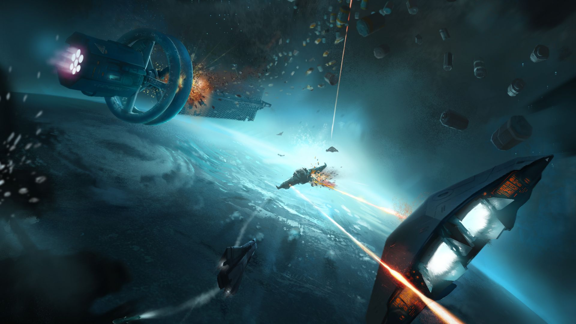 Elite: Dangerous, Best Games 2015, game, space, sci-fi, PC, PS4, Xbox One (horizontal)