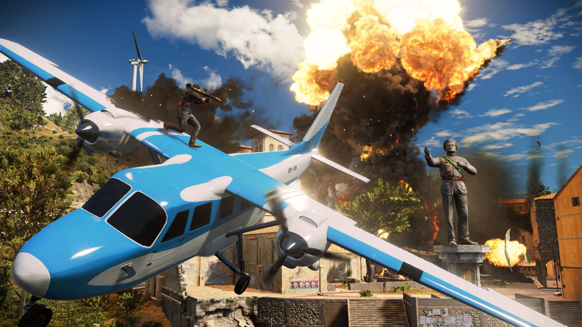 Just Cause 3, Best Games 2015, game, shooter, open world, PC, PS4, Xbox One (horizontal)