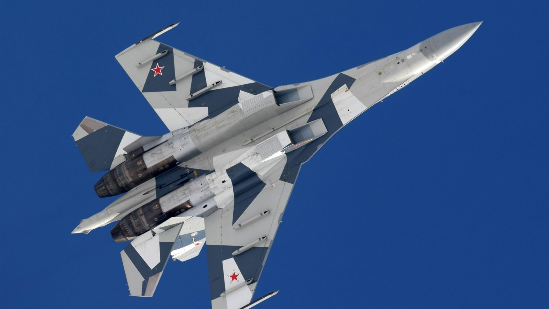 Su-35C, fighter, Russian Army (horizontal)