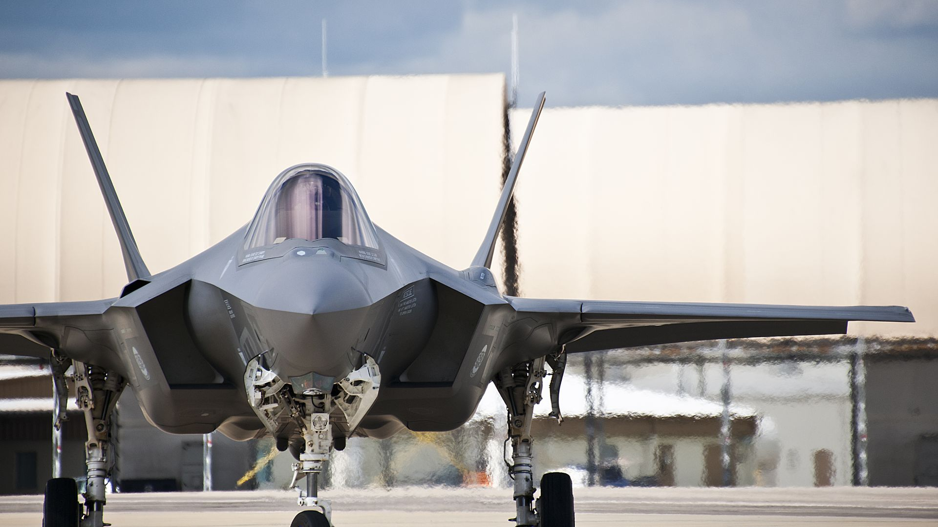 F-35, Lightning II, Lockheed, fighter, US Army, U.S. Air Force (horizontal)