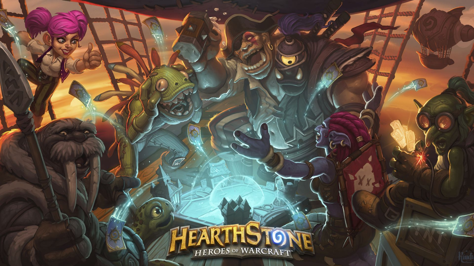 HearthStone: Heroes of Warcraft — The Grand Tournament, Best Games 2015, game, fantasy, PC, Apple, Android (horizontal)