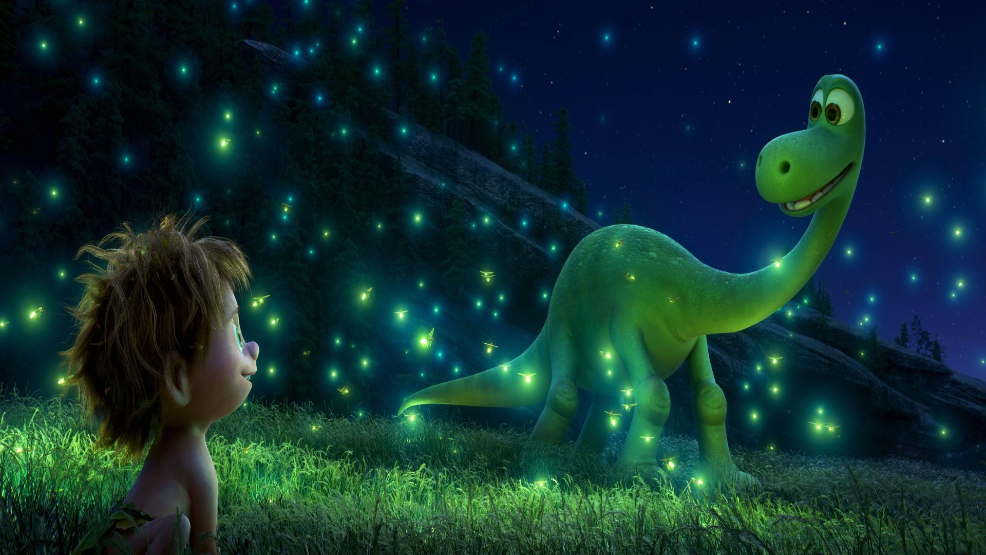 The Good Dinosaur, Brachiosaurus, boy (horizontal)