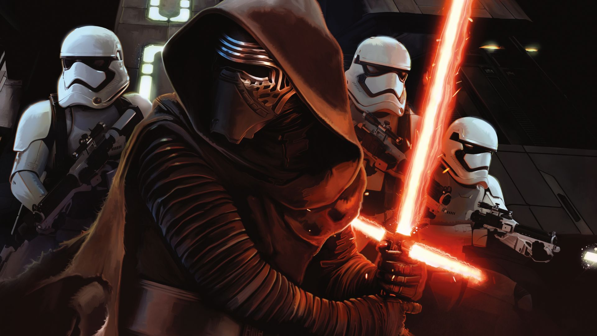 Star Wars: Episode VII - The Force Awakens, clone trooper (horizontal)