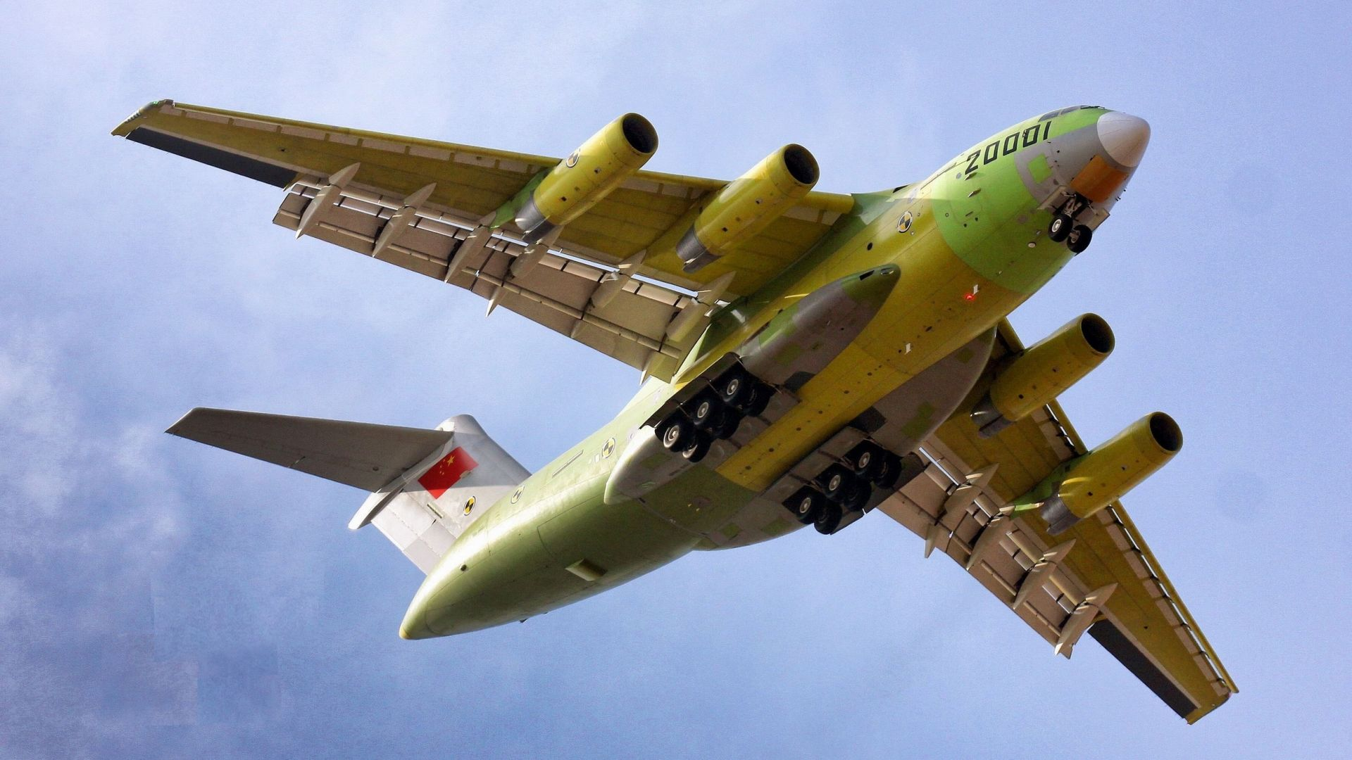 Xian Y-20, China army, China Air Force (horizontal)