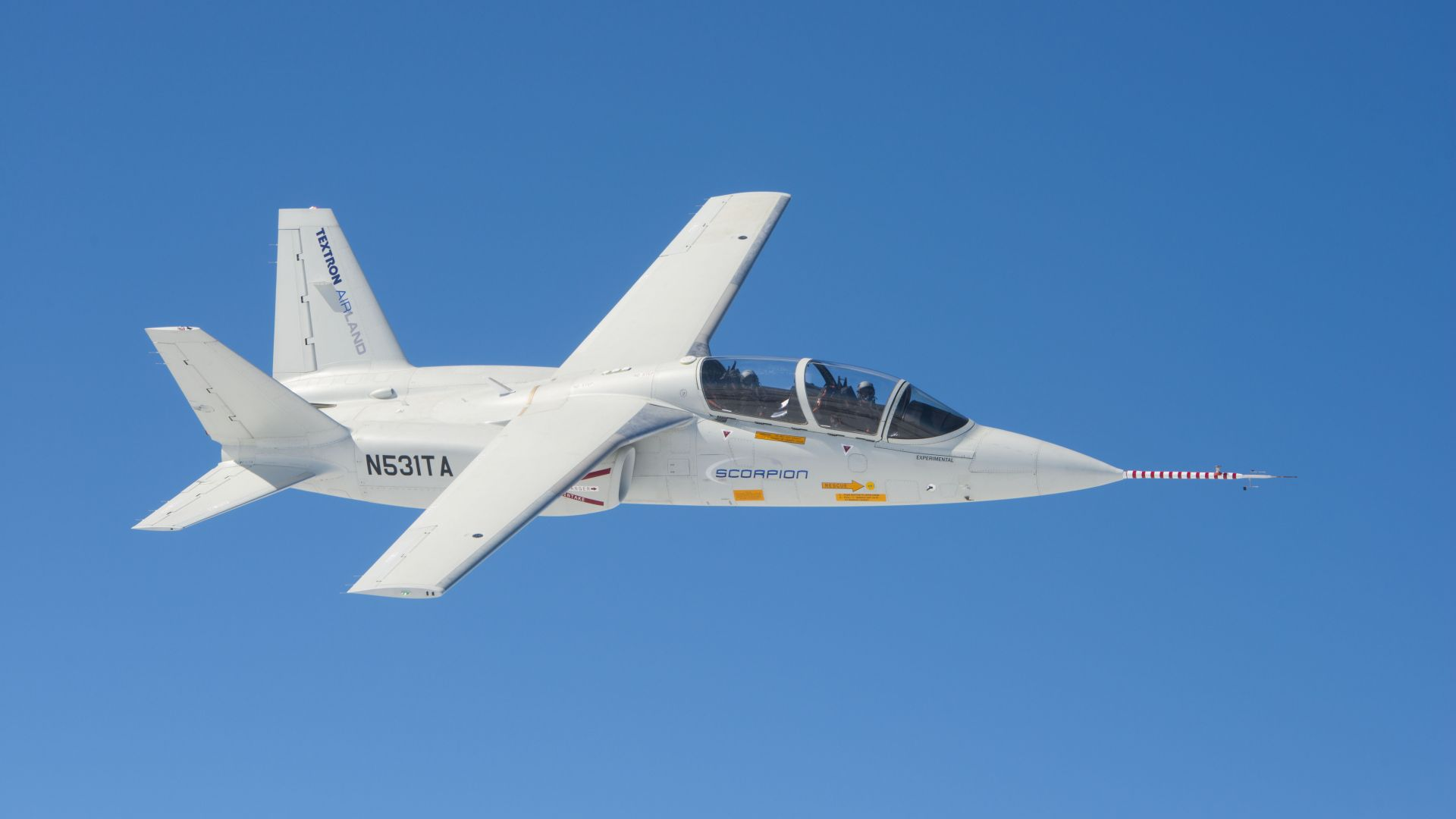 Textron AirLand Scorpion, USA army, fighter aircraft, air force, USA (horizontal)