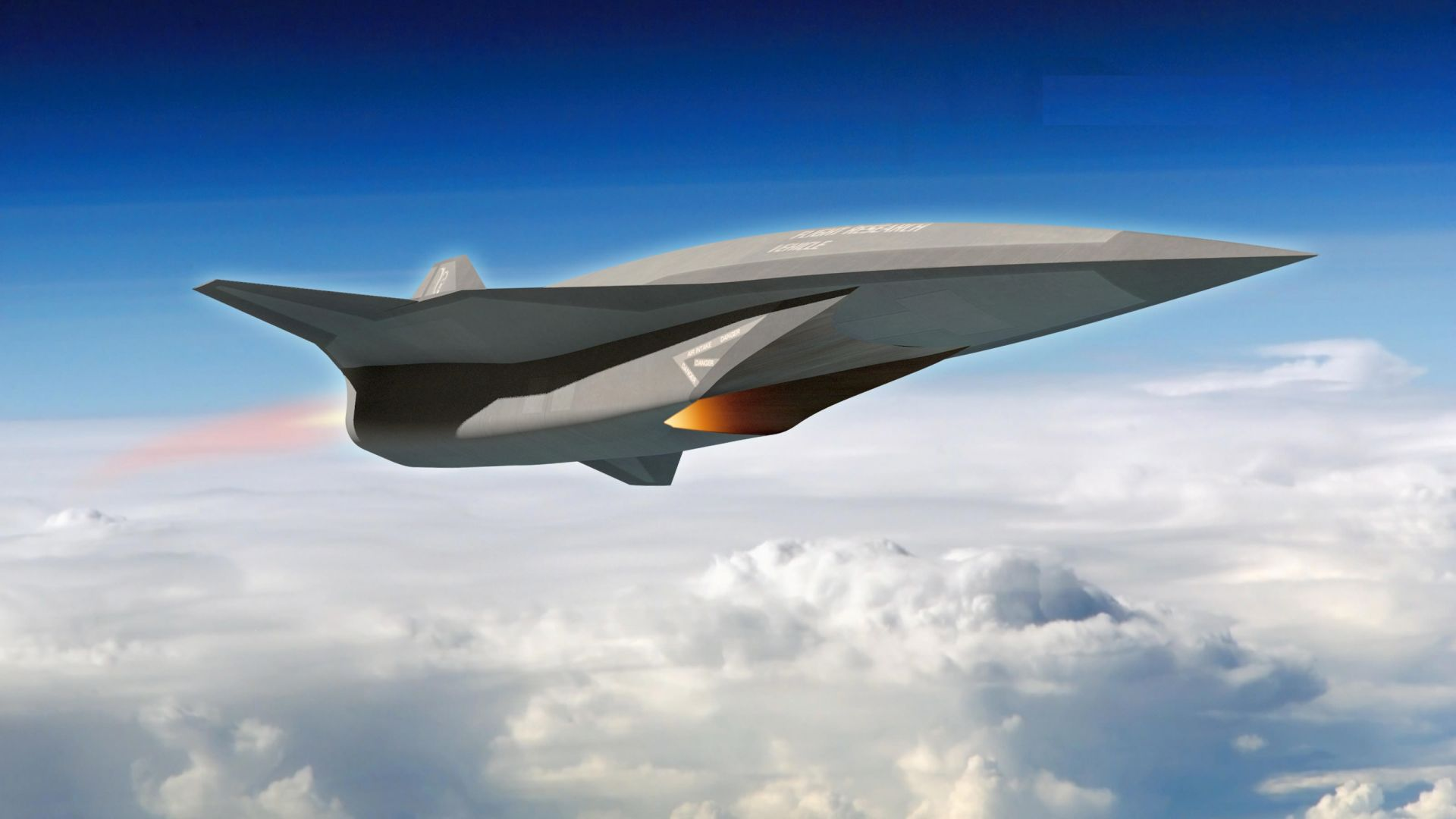SR-72, Lockheed, Hypersonic Unmanned Reconnaissance Aircraft, Darpa, future aircraft, jet, plane, aircraft, U.S. Air Force (horizontal)