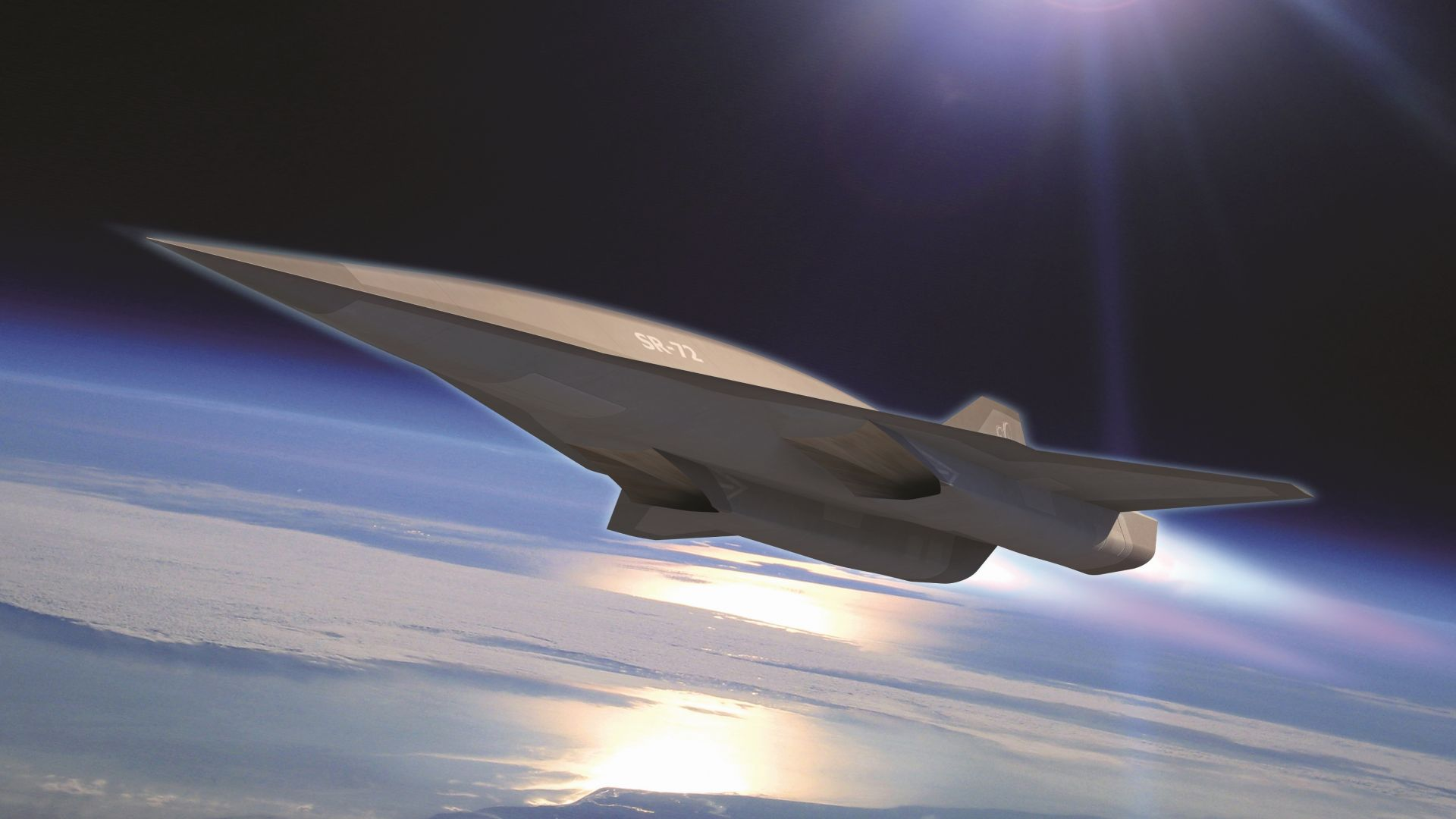 SR-72, Lockheed, Hypersonic Unmanned Reconnaissance Aircraft, Darpa, jet, plane, aircraft, U.S. Air Force (horizontal)