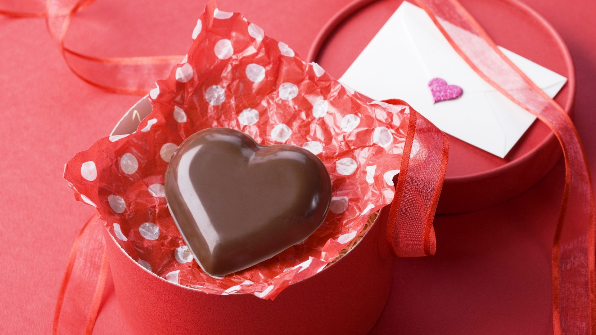 Valentine's Day, February 14, chocolate, candy, hearts, love (horizontal)