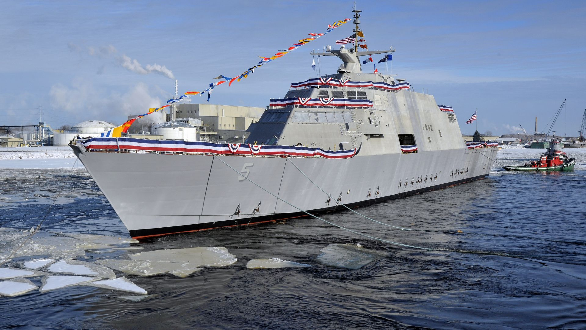 USS Milwaukee, LCS-5, lead ship, Freedom class, littoral combat, USA Navy (horizontal)