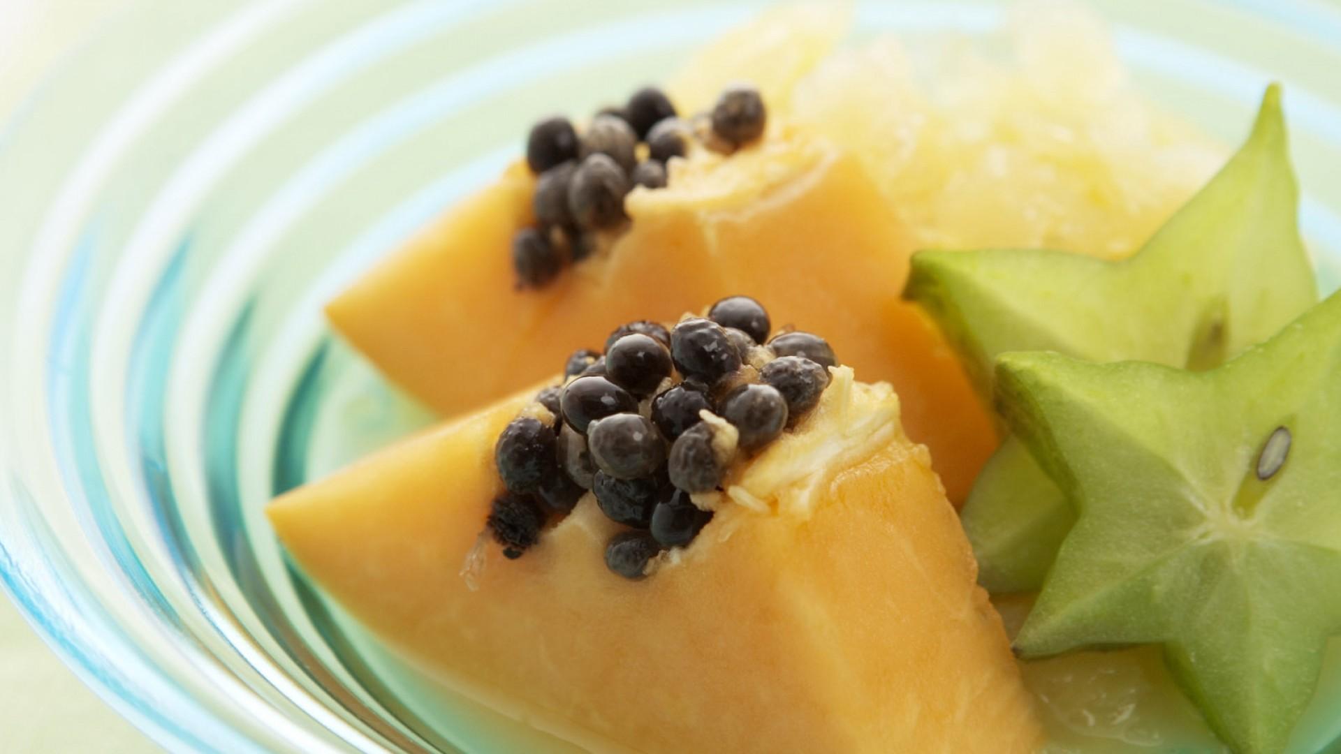 wallpaper papaya carambola food 813