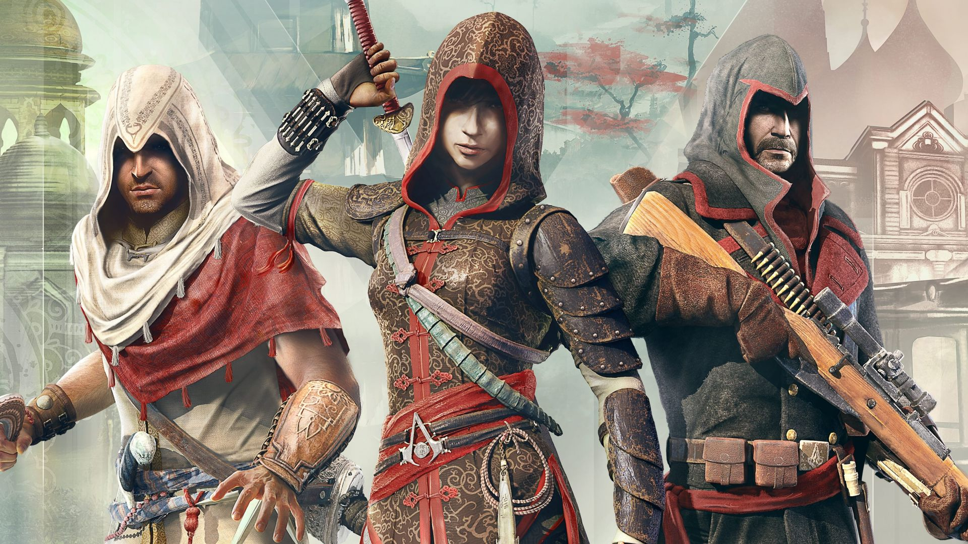 Assassin's Creed Chronicles Trilogy, Best Games, game, arcade, sci-fi, China, PC, PS4, Xbox One (horizontal)