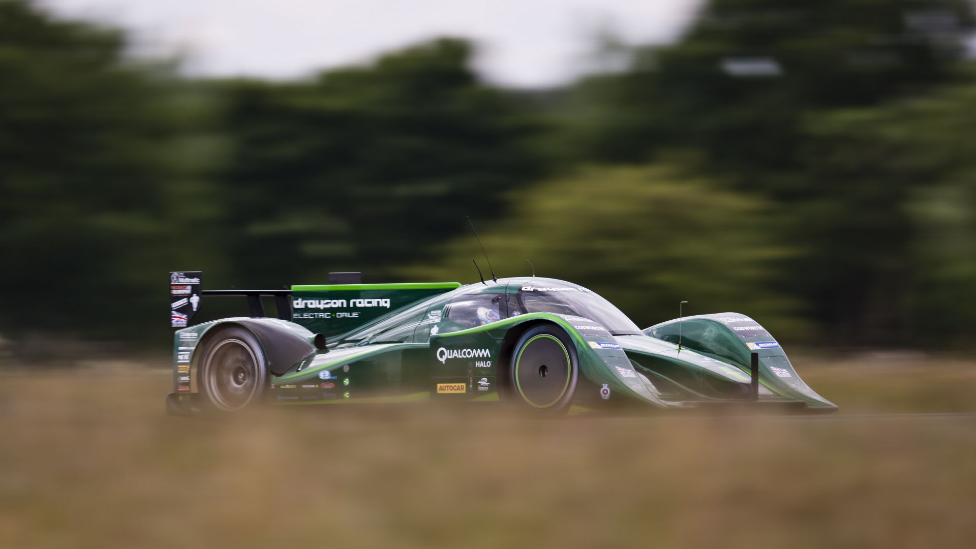 Drayson Racing B12/69, Quickest Electric Cars, sport cars, electric cars, green (horizontal)