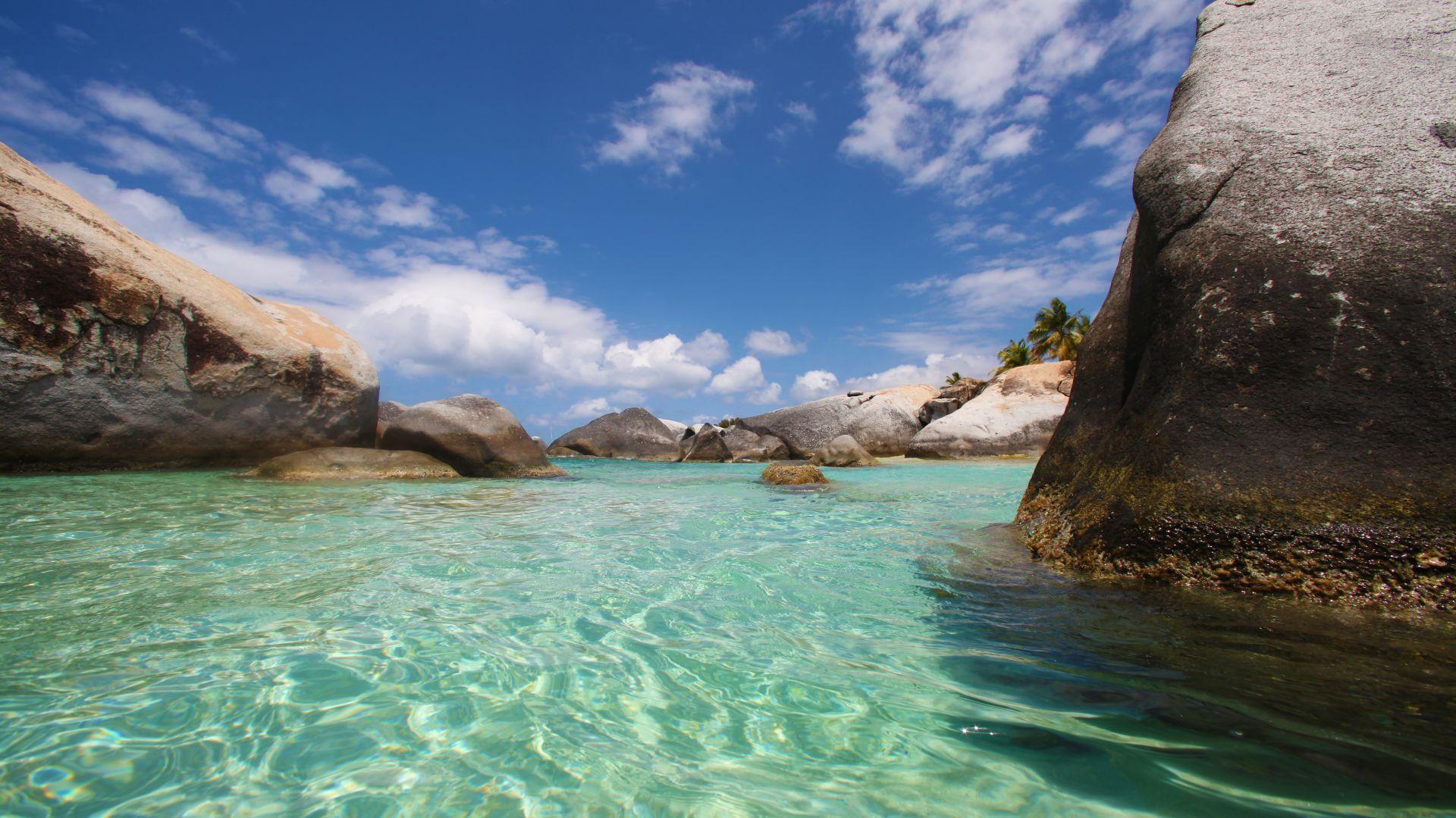 The Baths, Virgin Gorda Island, British Virgin Islands, West Indies  № 1471429 без смс