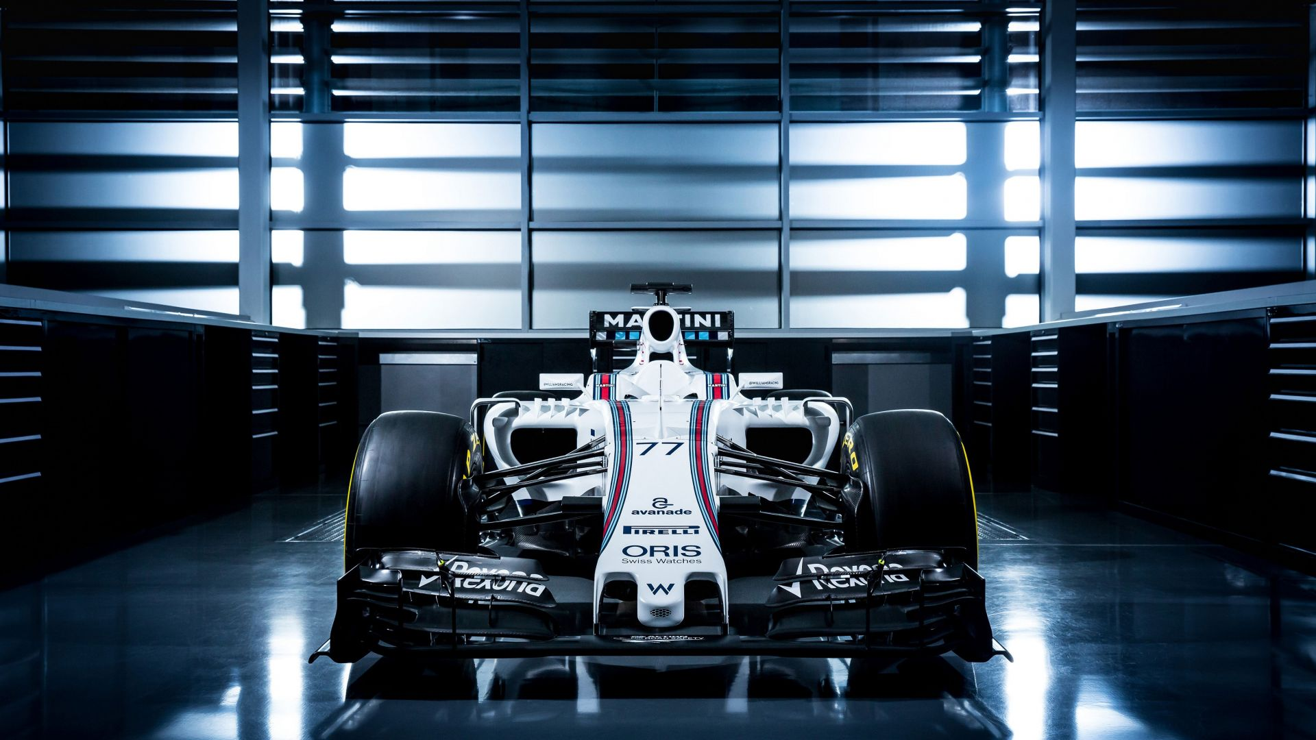 Williams FW38, Formula 1, testing, LIVE from Barcelona, F1 (horizontal)
