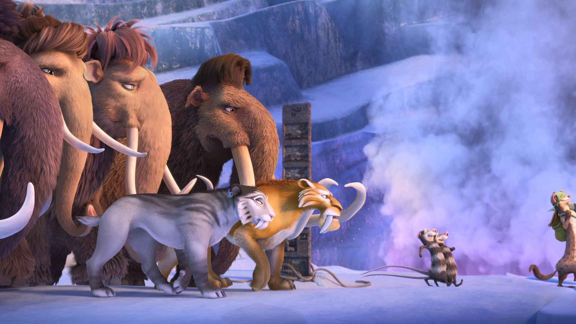 Ice Age 5: Collision Course, mammoths, best animations of 2016 (horizontal)