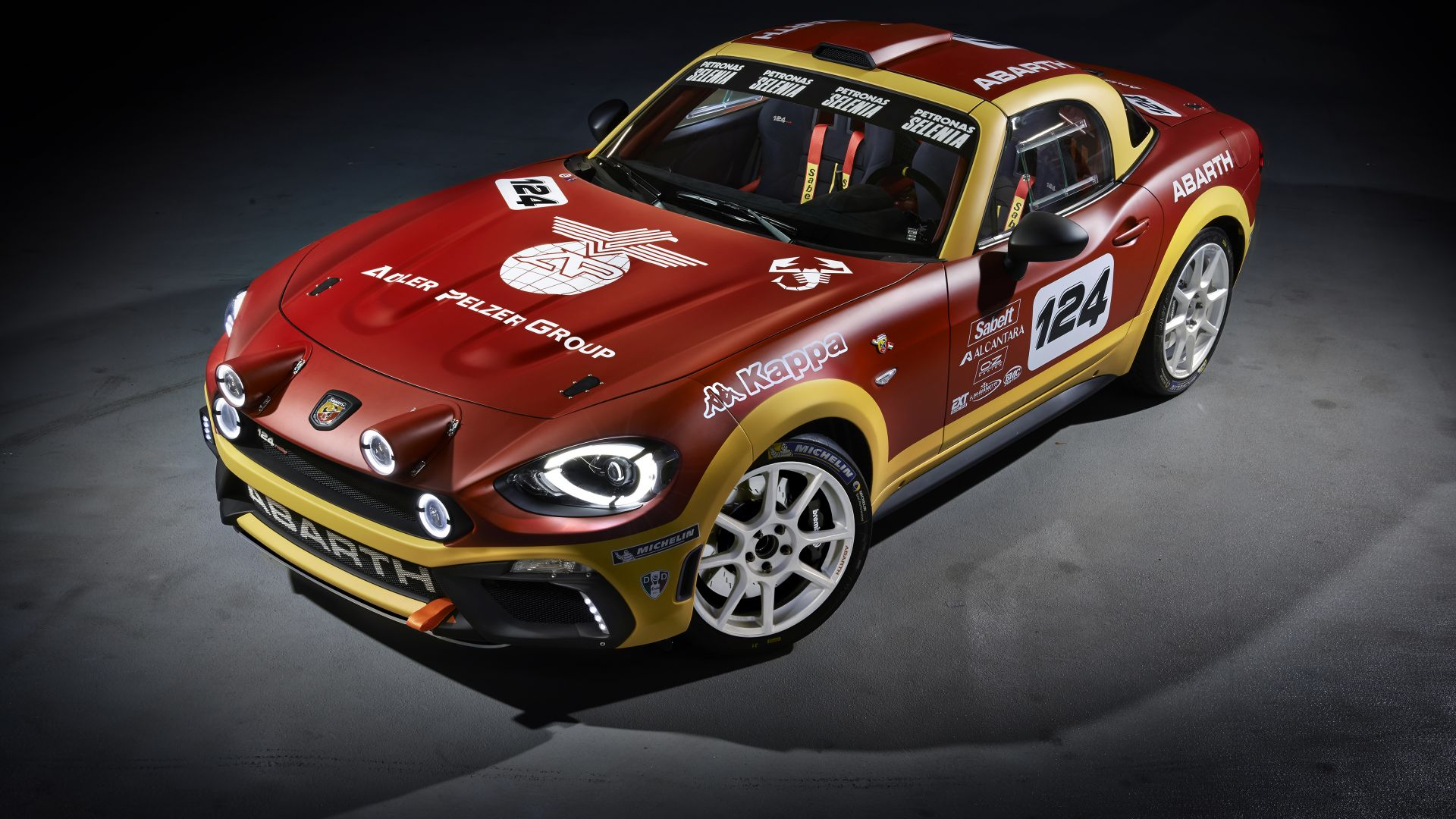 Fiat 124 Spider Abarth, rally edition, Geneva Auto Show 2016, roadster (horizontal)