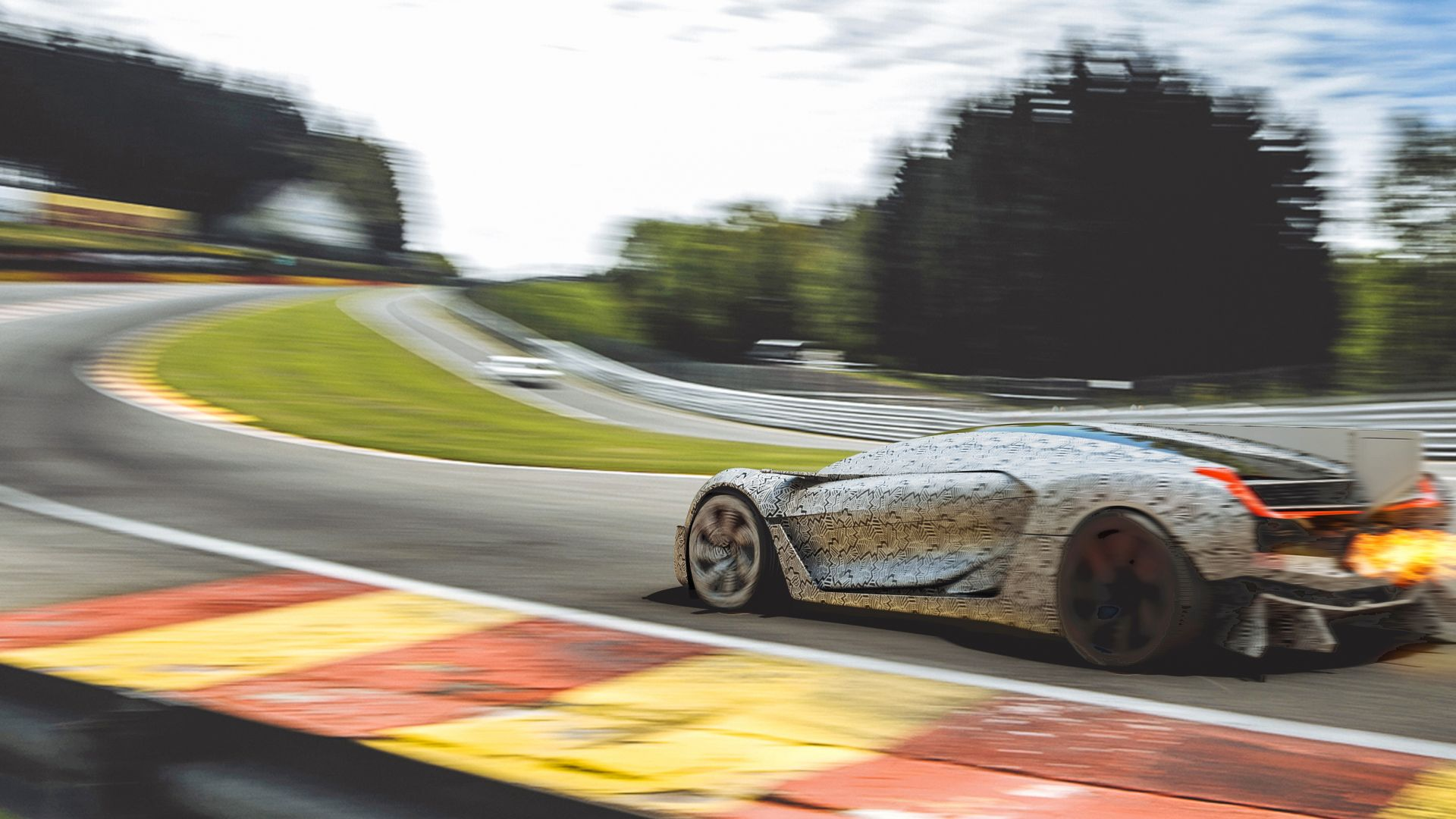 Wallpaper Bell & Ross Aero GT, supercar, hypercar, silver ...