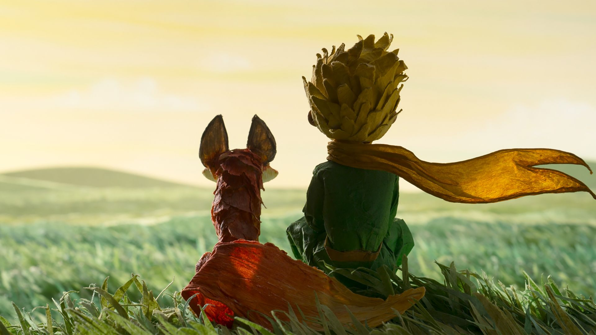 The Little Prince, The Fox (horizontal)