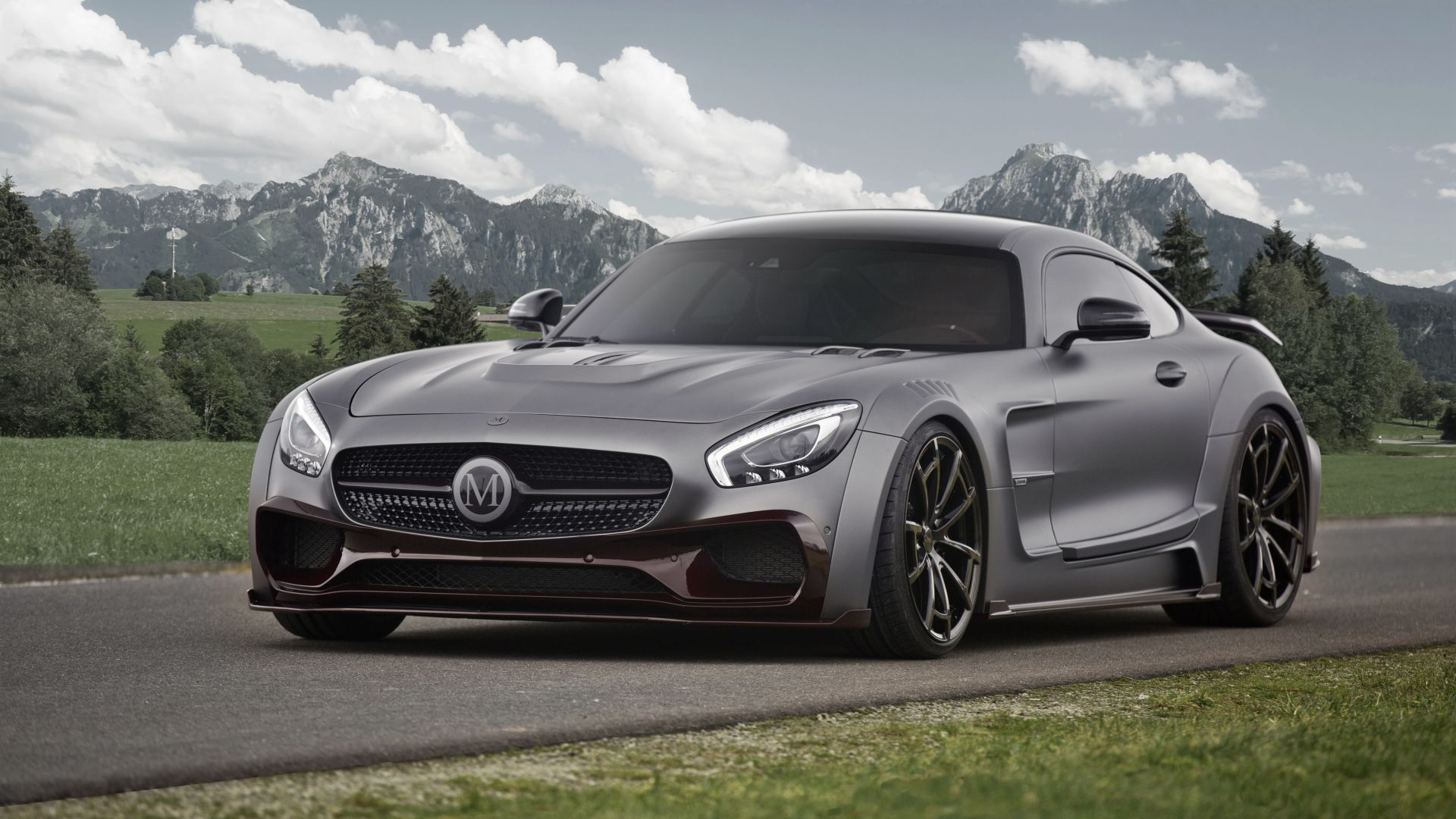 Mansory Mercedes AMG GT S, Coupe, Geneva Auto Show 2016, silver (horizontal)
