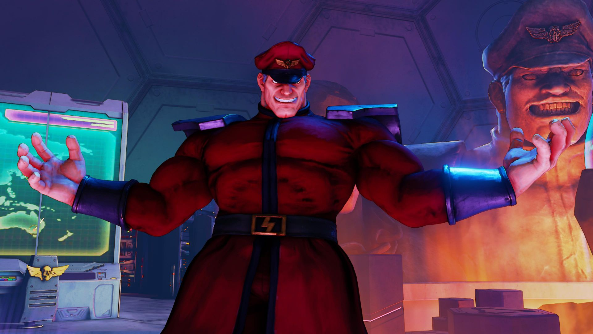 Street Fighter 5, M. BISON, Best Games, fantasy, PC, PS4 (horizontal)