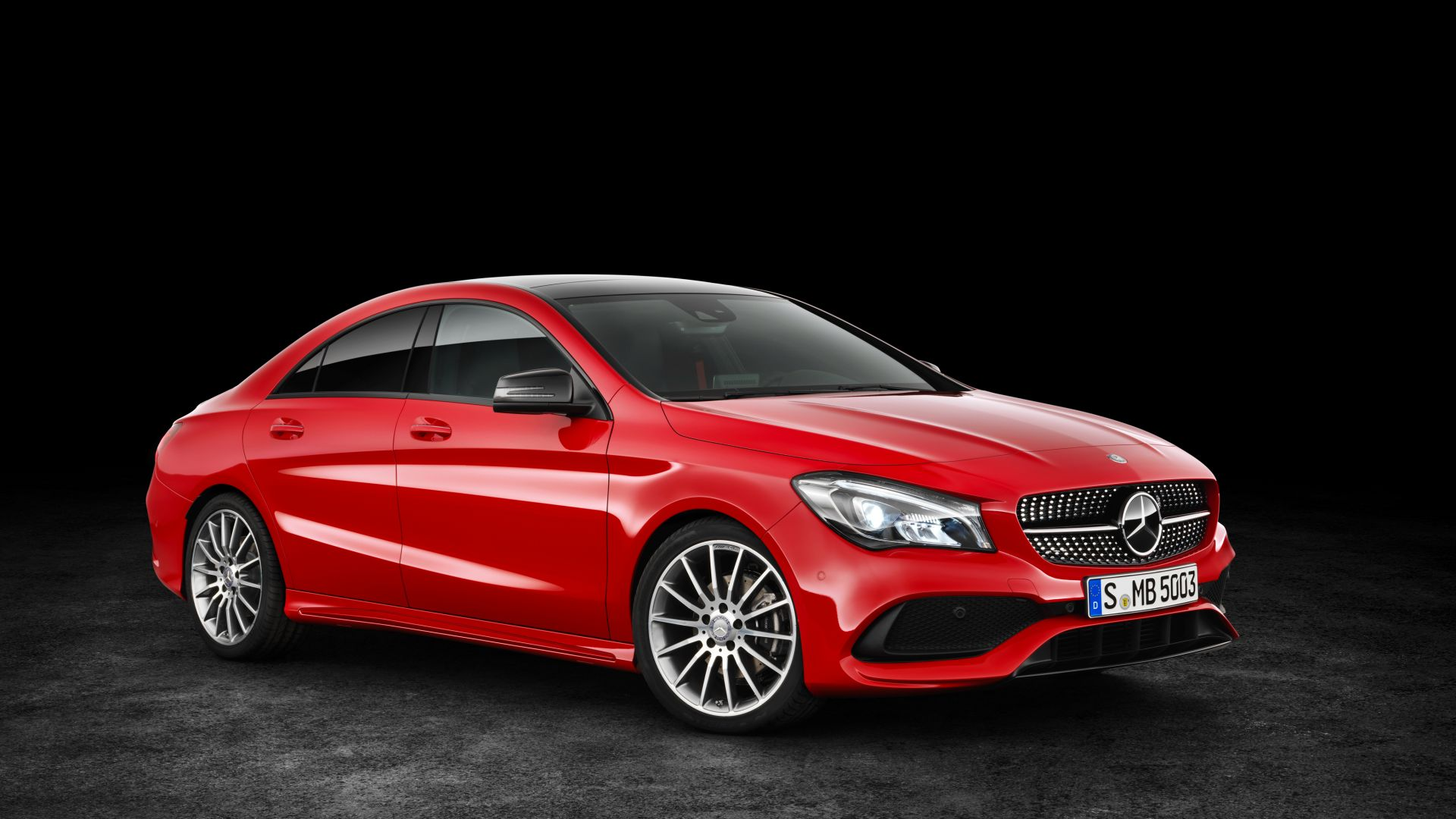 Mercedes-Benz CLA 200 d, 4MATIC AMG Line, NYIAS 2016, red (horizontal)