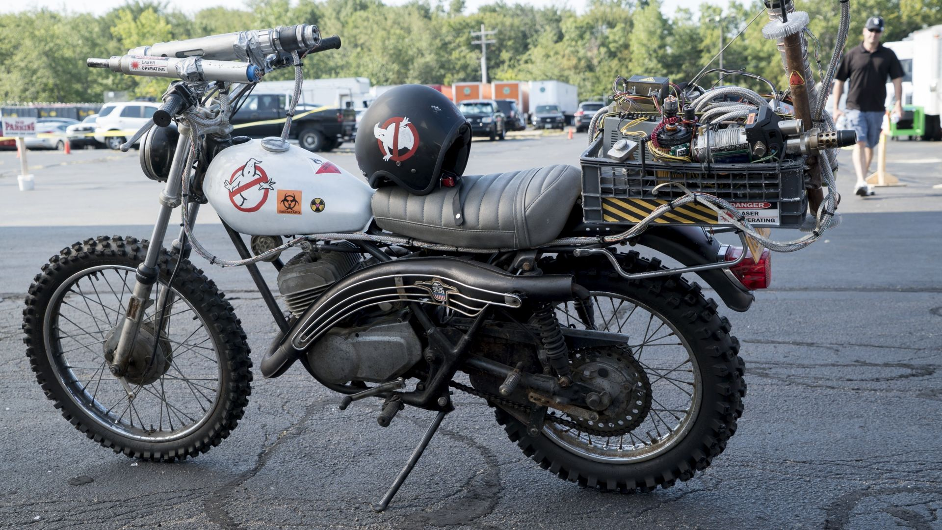 Ecto-2, motorcycle, Ghostbusters, Best Movies (horizontal)
