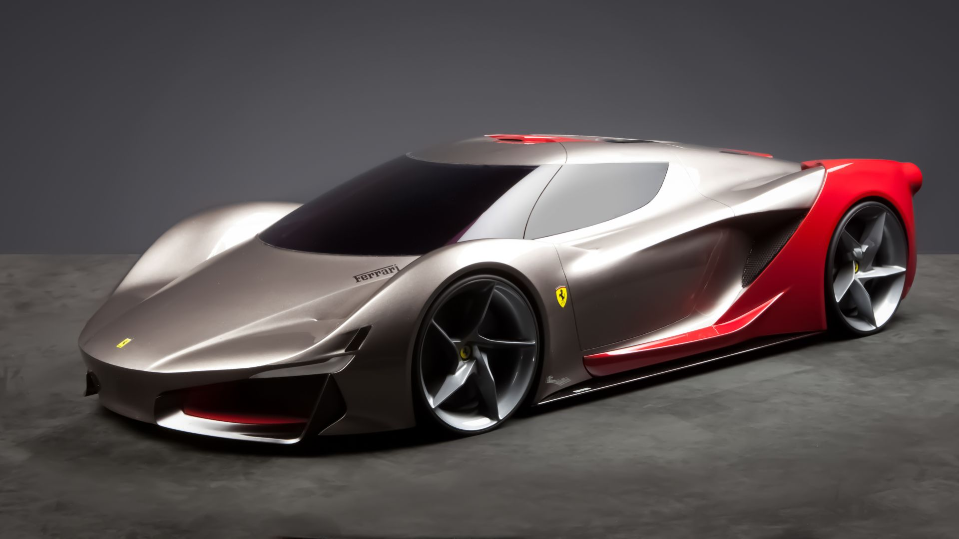 Wallpaper Ferrari 2040 De Esfera Supercar Ferrari World Design