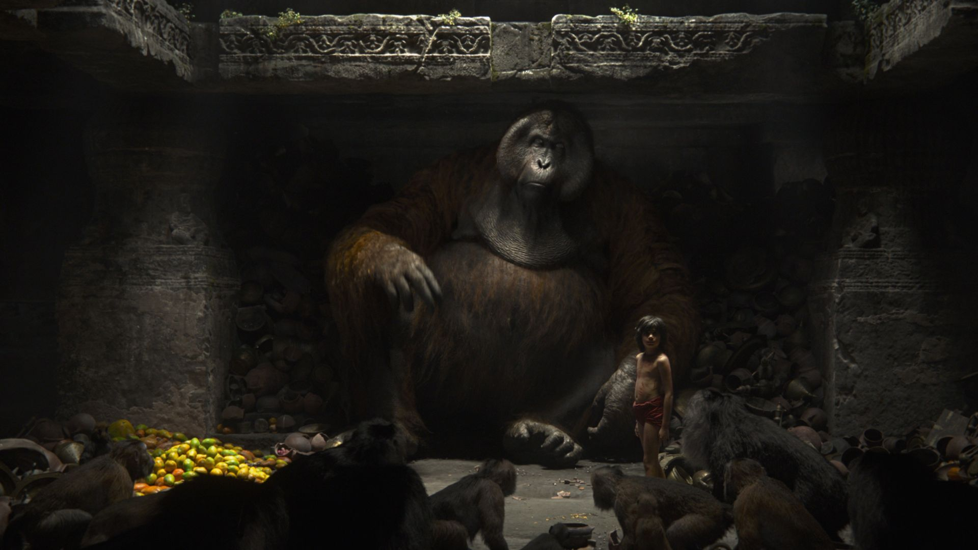 The Jungle Book, Monkey King, King Louie, adventure, fantasy, Best movies of 2016