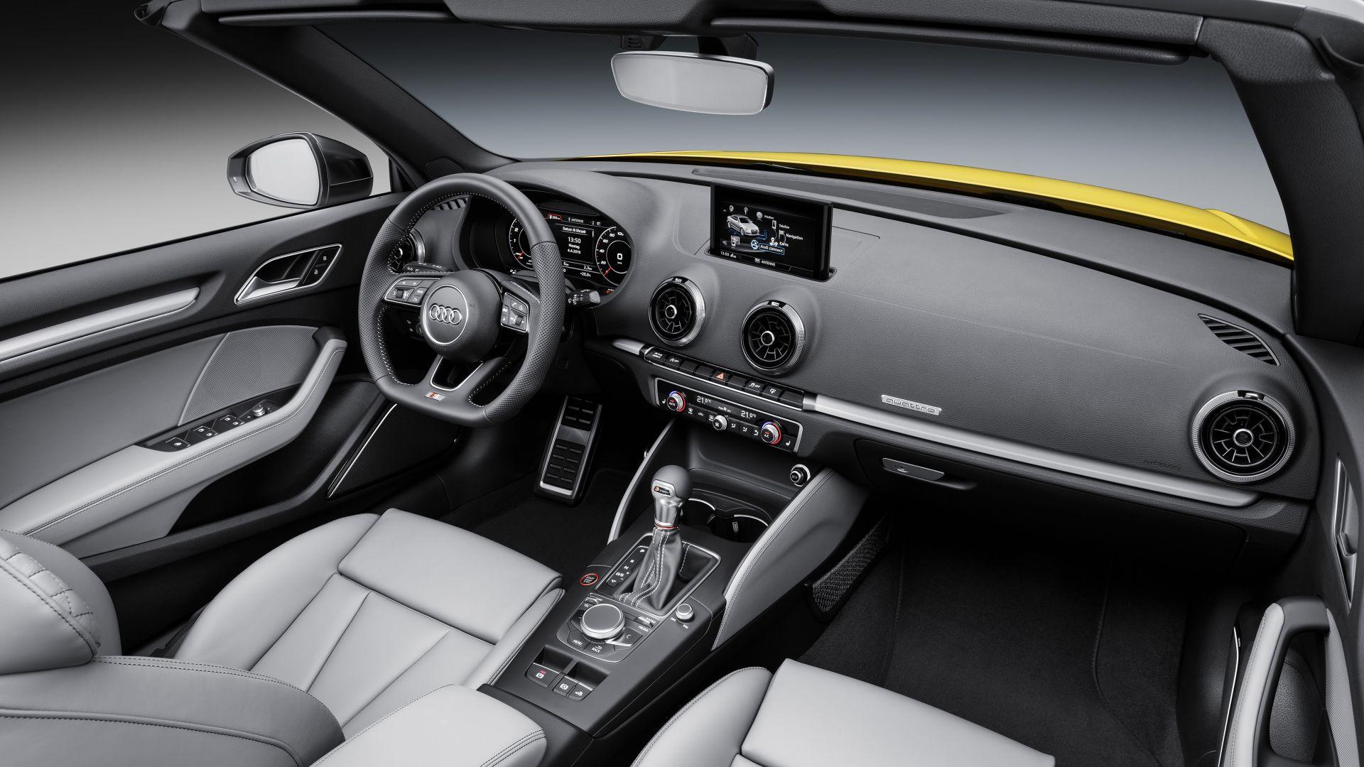 Wallpaper audi s3 cabriolet interior cars bikes 10264 for Audi s3 interior