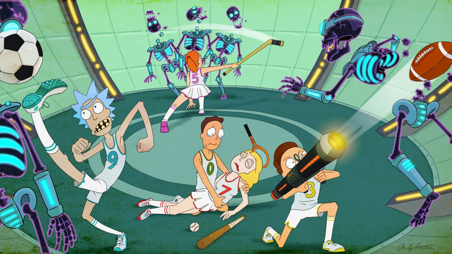 Rick and Morty, rick, 3 season, best tv series, best animations movies (horizontal)
