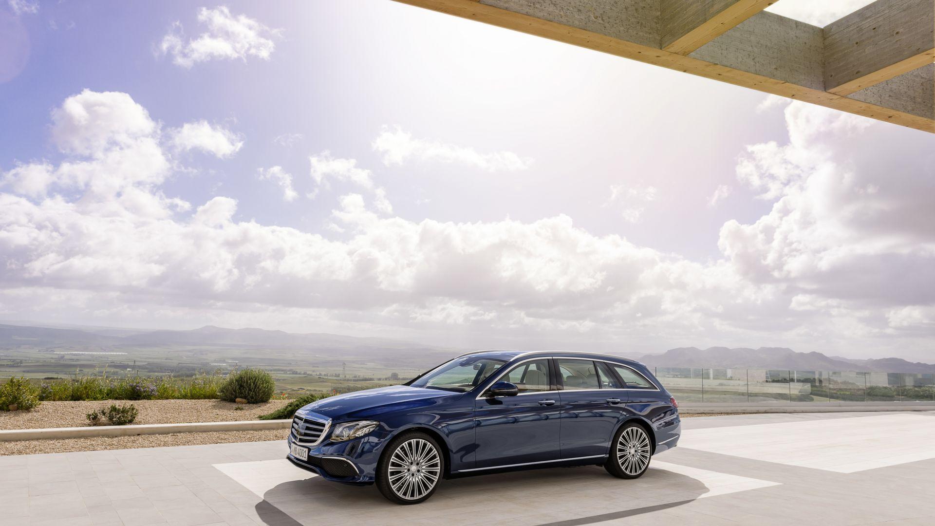 Wallpaper Mercedes-Benz E 200 d Exclusive Line Estate ...